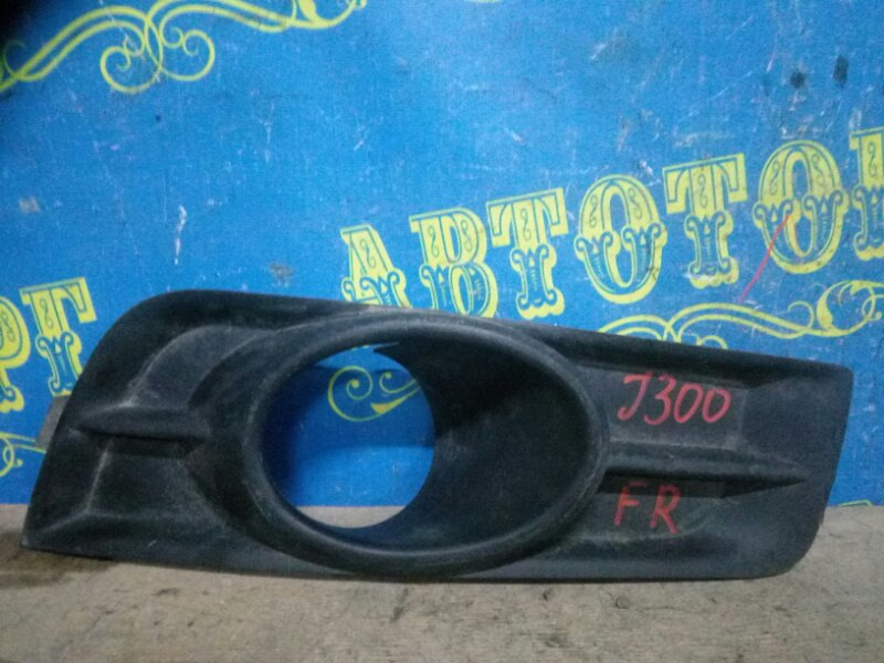 Заглушка бампера Chevrolet Cruze J300 F16D3 2011 передняя правая
