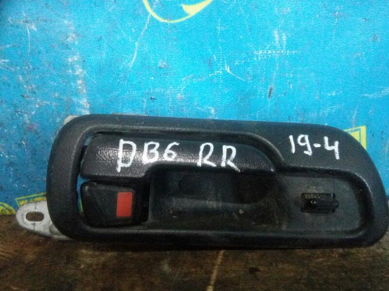 Ручка двери внутренняя Honda Integra DB6 ZC 2000 задняя правая