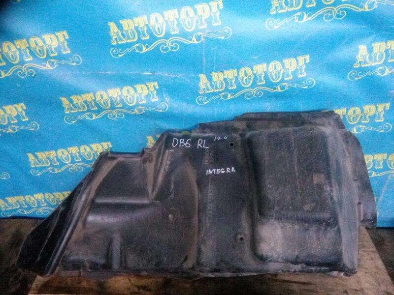 Обшивка багажника Honda Integra DB6 ZC 2000 задняя левая