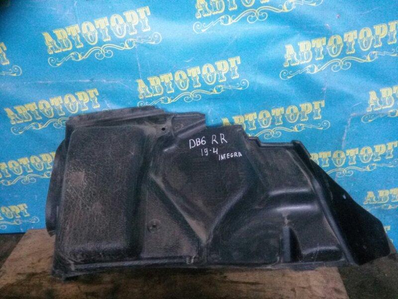 Обшивка багажника Honda Integra DB6 ZC 2000 задняя правая