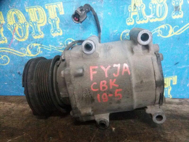 Компрессор кондиционера Ford Fusion CBK FYJA 2007