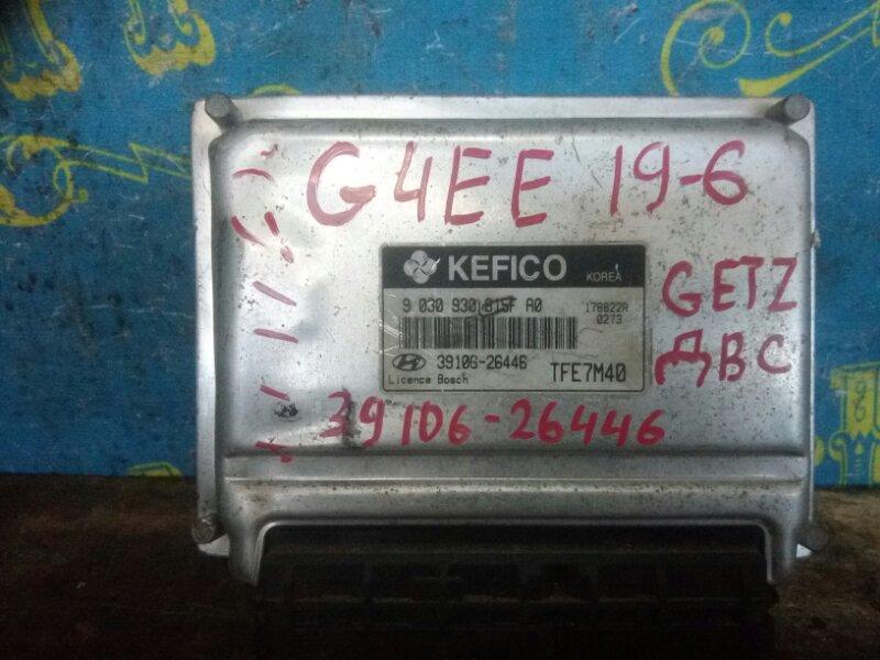 Блок управления двс Hyundai Getz TB G4EE 2007