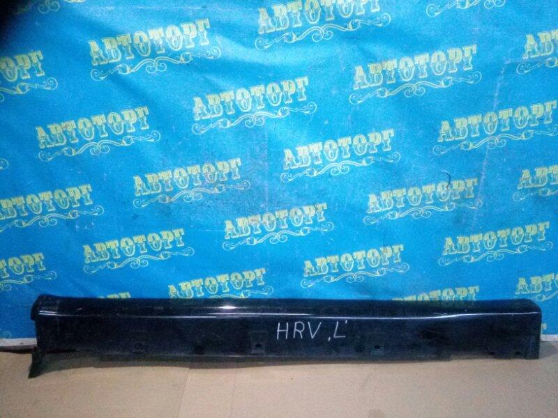 Накладка на порог Honda Hrv GH1 левая