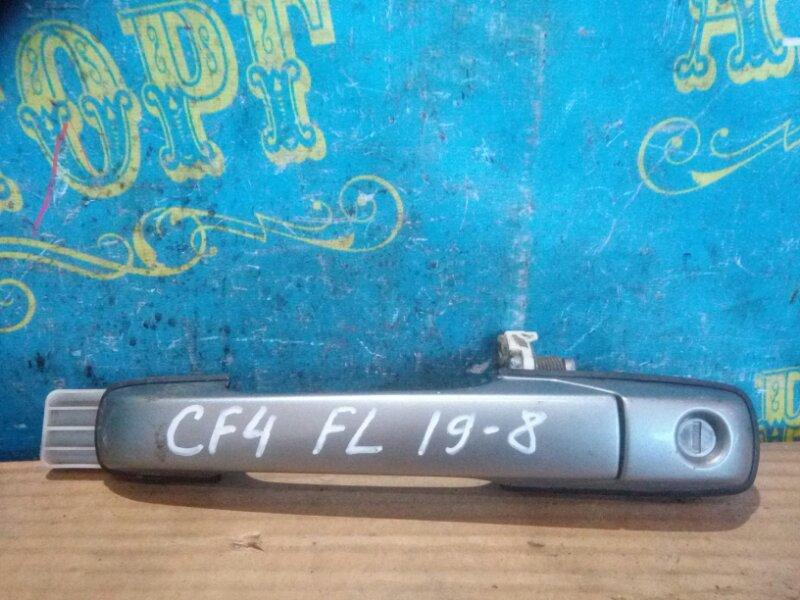 Ручка двери внешняя Honda Accord CF4 F20B 1998 передняя левая