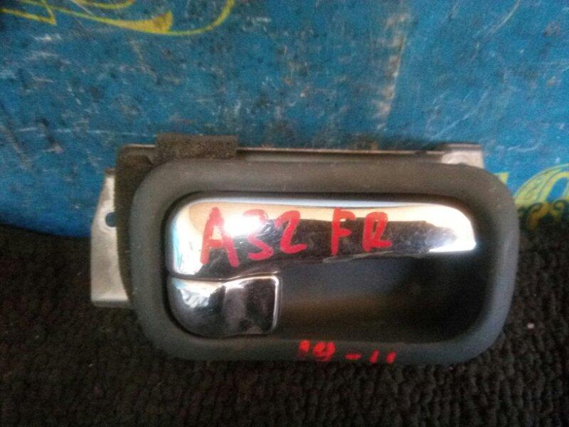 Ручка двери внутренняя Nissan Cefiro A32 VQ20 1995 передняя правая