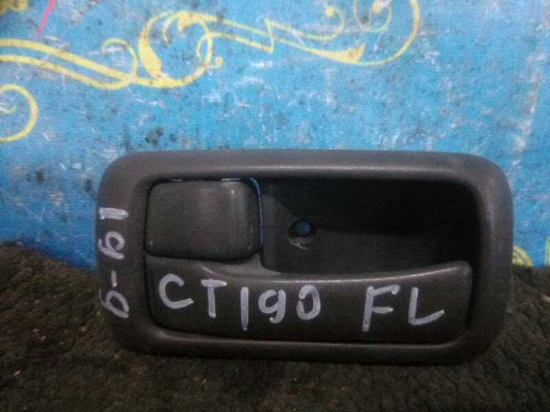 Ручка двери внутренняя Toyota Carina CT190 2C 1993 передняя левая