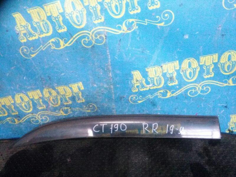 Ветровик Toyota Carina CT190 2C 1993 задний правый
