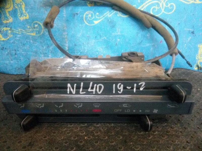 Блок управления климат-контролем Toyota Tercel NL41 1N-T 1993