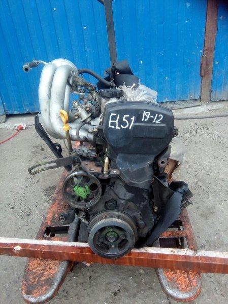 Двигатель Toyota Tercel EL51 4E