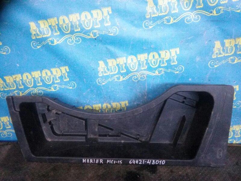 Пол багажника пластик Toyota Harrier ACU10