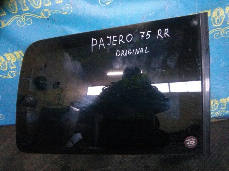 Стекло багажника Mitsubishi Pajero V75W заднее правое