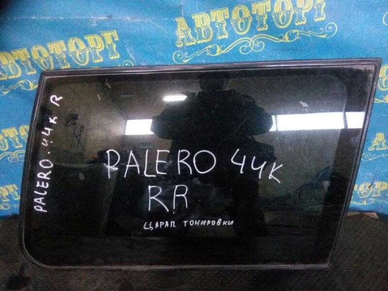 Стекло багажника Mitsubishi Pajero V44W заднее правое