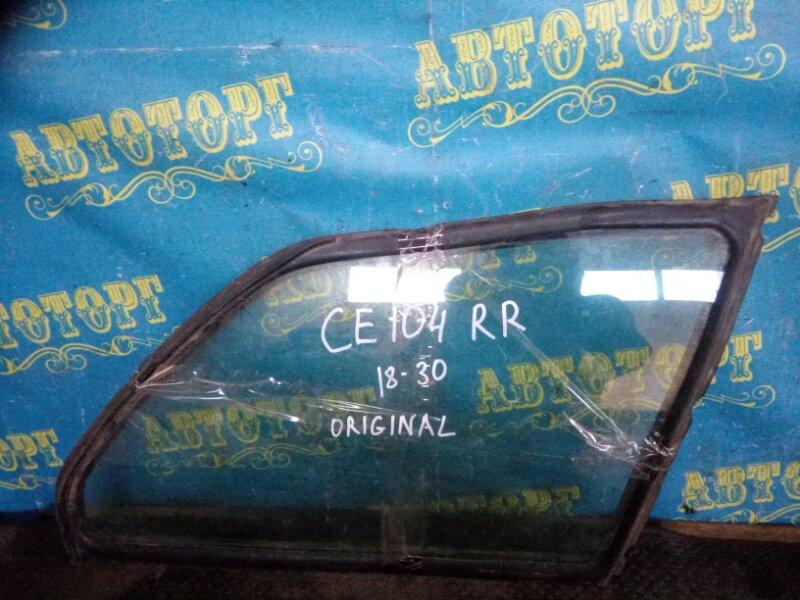 Стекло багажника Toyota Sprinter CE104 2C 2000 заднее правое