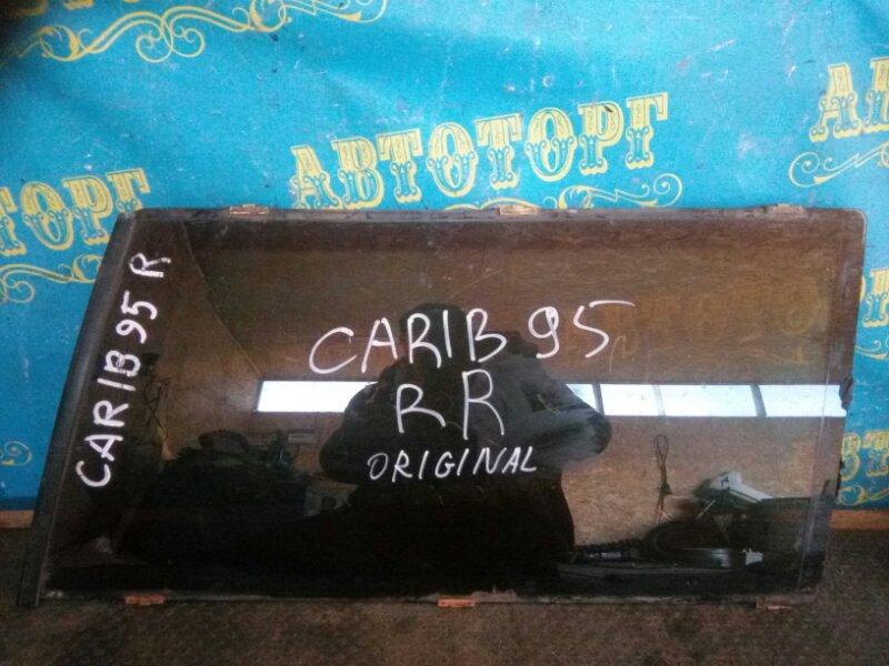 Стекло багажника Toyota Carib AE95 заднее правое