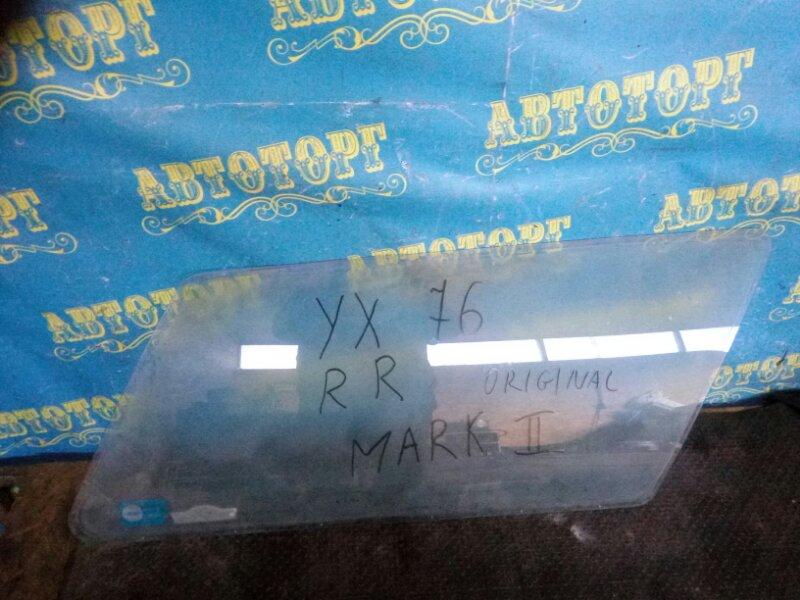 Стекло багажника Toyota Mark Ii YX76 2Y заднее правое