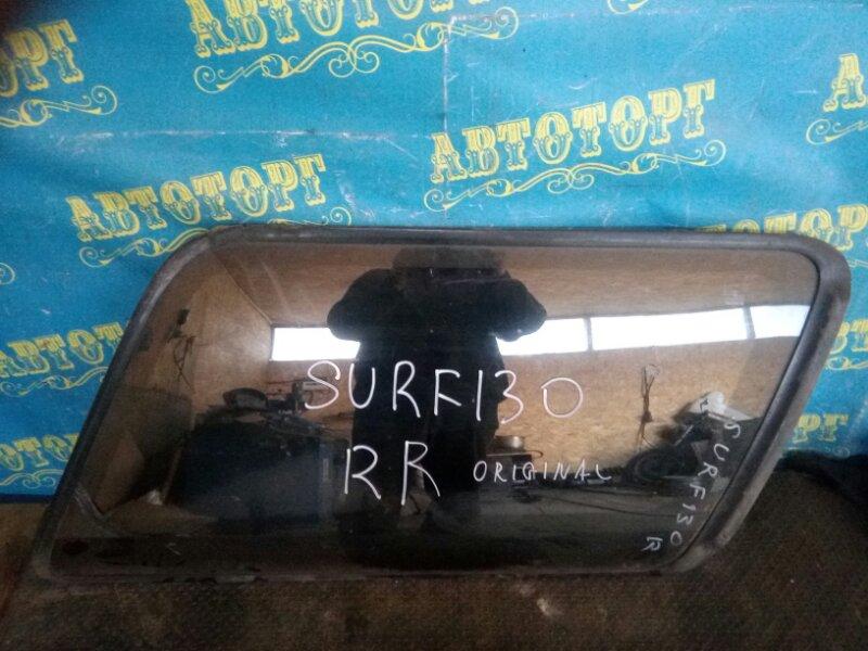 Стекло багажника Toyota Surf KZN130 1KZ заднее правое