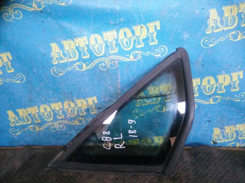 Форточка кузова Ford Focus 3 CB8 PNDA 2012 задняя левая