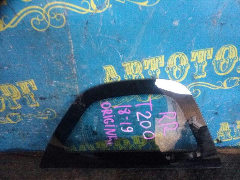 Стекло багажника Chevrolet Aveo T200 B12S1 2006 заднее правое