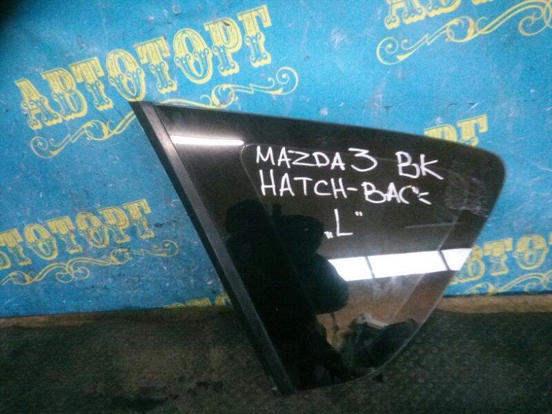 Стекло багажника Mazda 3 BK Z6 2006 заднее левое