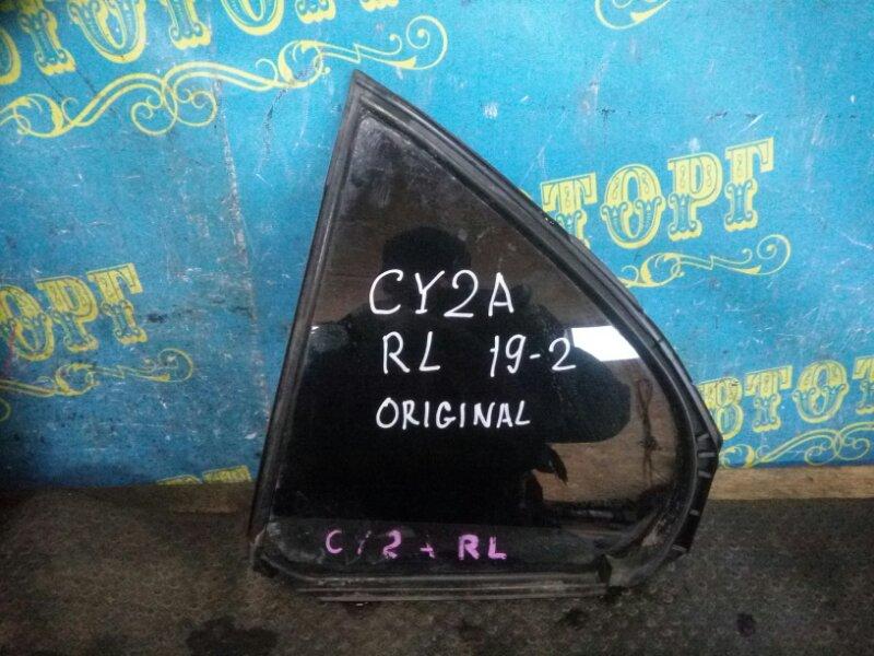 Форточка двери Mitsubishi Lancer X CY2A 4A91 2010 задняя левая