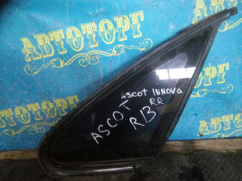 Форточка кузова Honda Ascot CB4 задняя правая