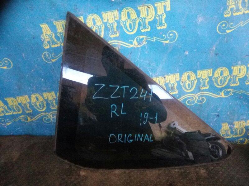 Стекло багажника Toyota Caldina ZZT241 1ZZ 2005 заднее левое