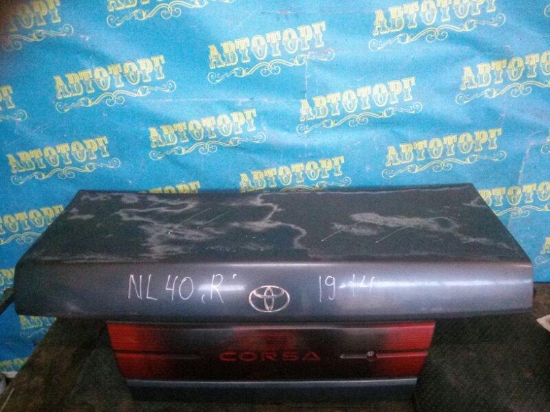 Крышка багажника Toyota Corsa NL40 1N 1994