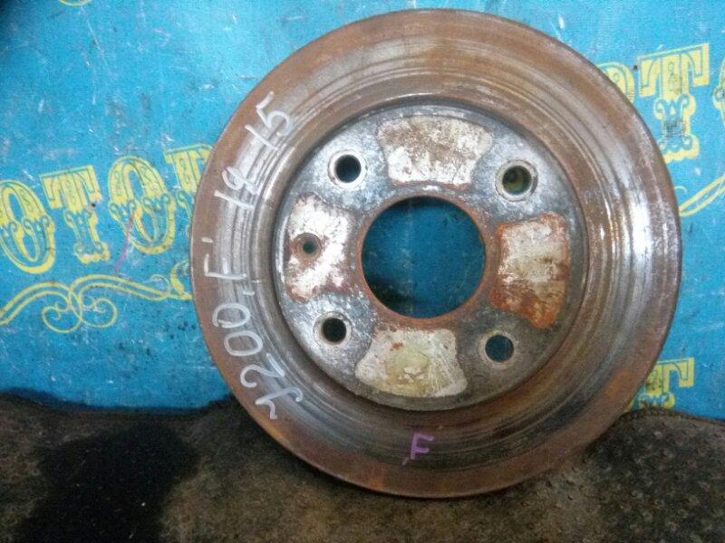 Тормозной диск Chevrolet Lacetti J200 F16D3 2012 передний