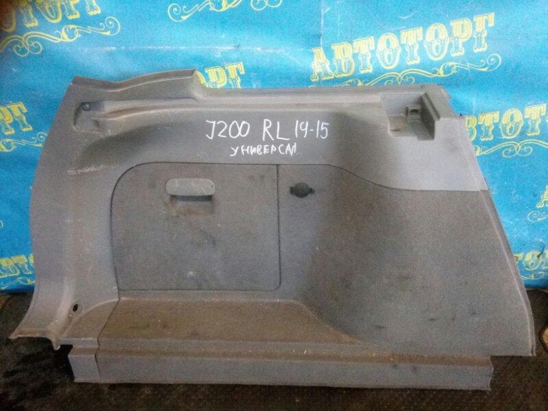 Обшивка багажника Chevrolet Lacetti J200 F16D3 2012 задняя левая