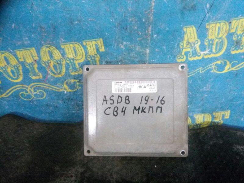Блок управления двс Ford Focus 2 CB4 ASDB 2006