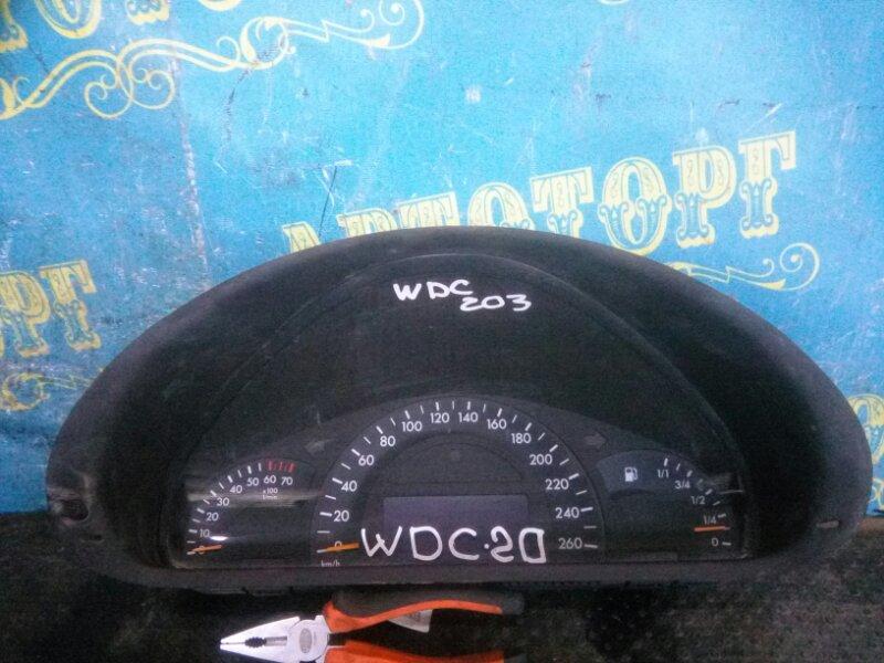 Щиток приборов Mercedes C-Class W203 111