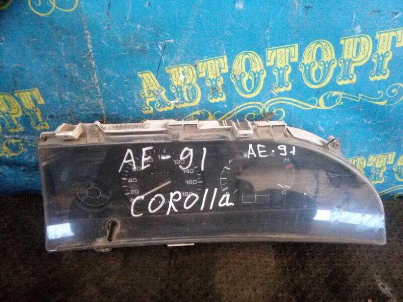 Щиток приборов Toyota Corolla AE91 5A