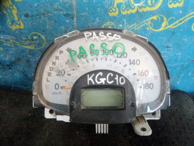 Щиток приборов Toyota Passo KGC10 1KR