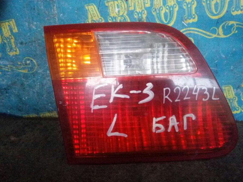 Вставка в багажник Honda Civic EK3 D15B