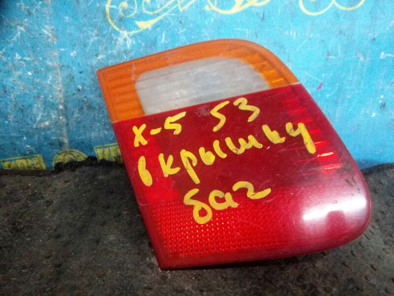 Вставка в багажник Bmw X5 E53 задняя левая