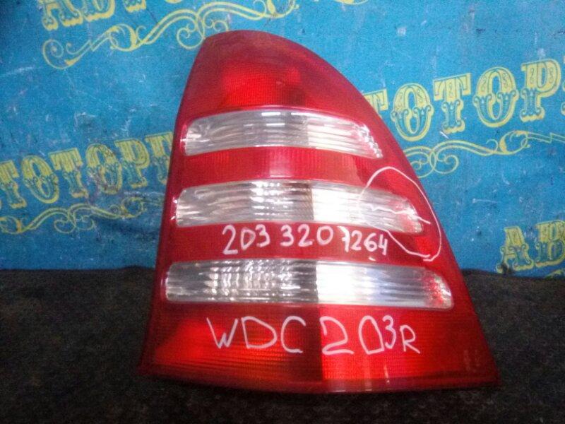 Стоп сигнал Mercedes C-Class W203 111 задний правый
