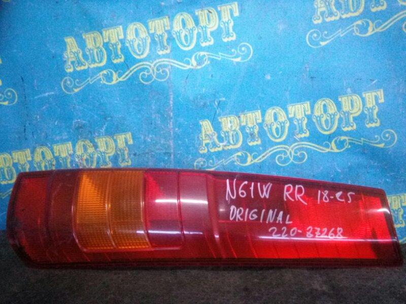 Стоп сигнал Mitsubishi Rvr N61W 4G93 1997 задний правый
