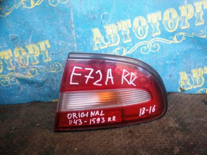 Стоп сигнал Mitsubishi Galant E53A E72A 4G93 1993 задний правый
