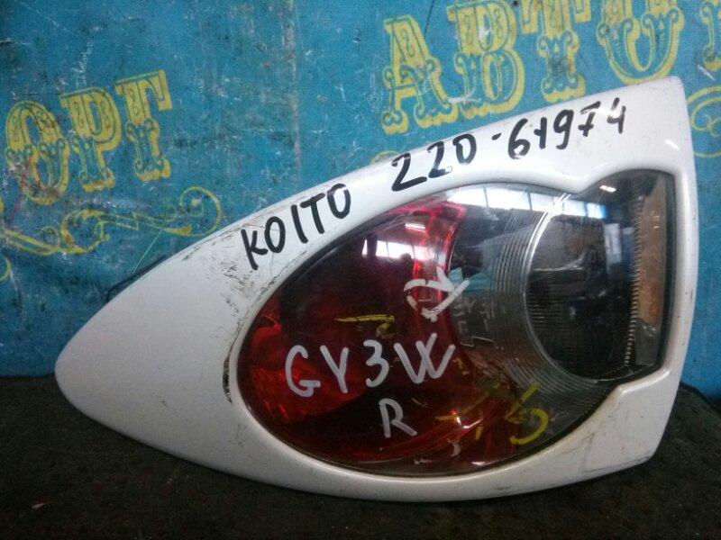 Стоп сигнал Mazda Atenza GY3W L3 задний правый