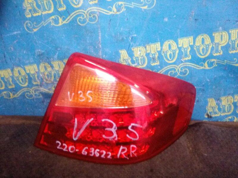Стоп сигнал Nissan Skyline V35 задний правый