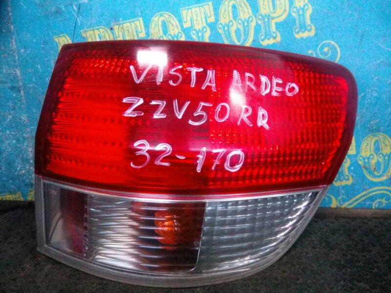 Стоп сигнал Toyota Vista Ardeo ZZV50 задний правый