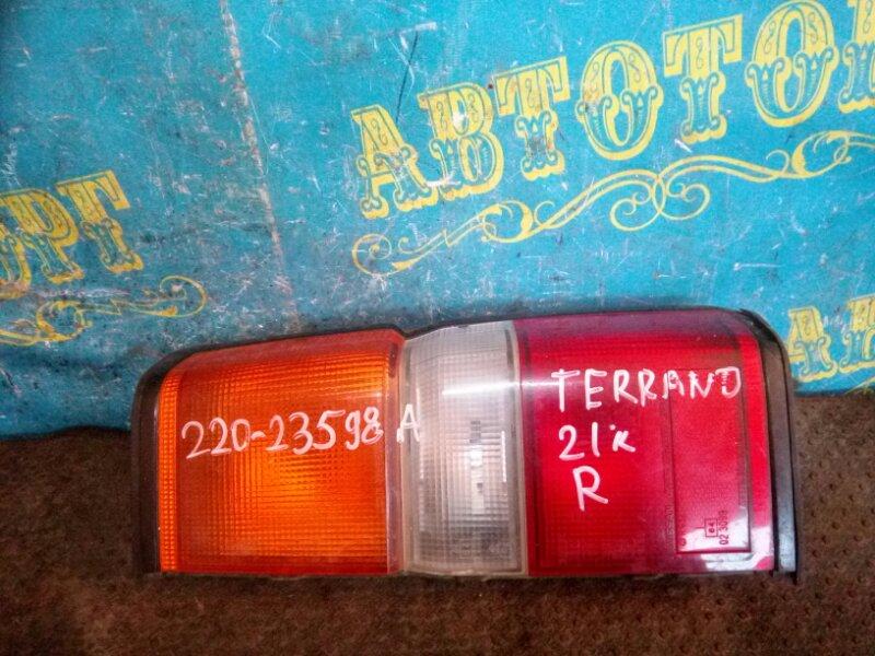 Стоп сигнал Nissan Terrano D21 задний правый