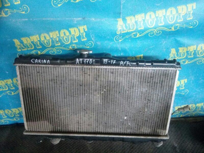 Радиатор основной Toyota Carina AT170 5A-FE 1990