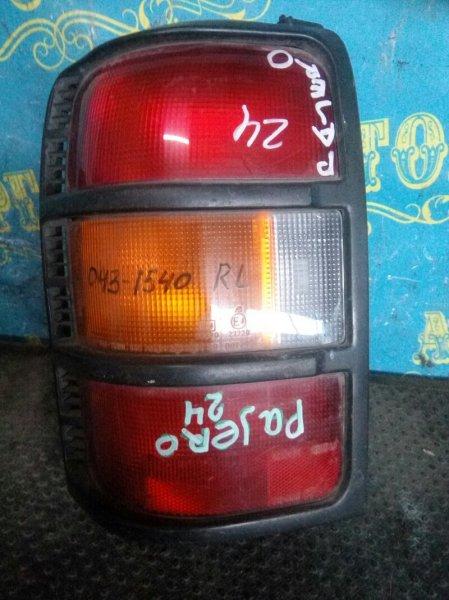 Стоп сигнал Mitsubishi Pajero V24W задний левый