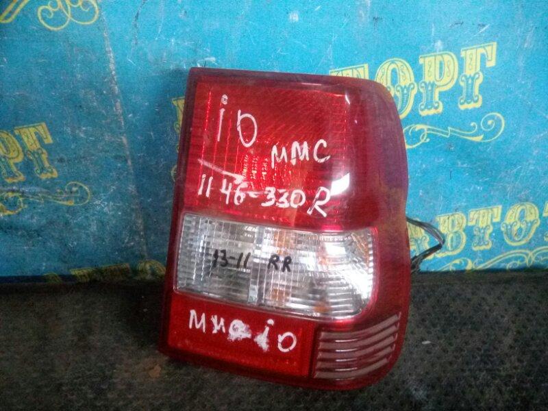 Стоп сигнал Mitsubishi Pajero Io H66W задний правый
