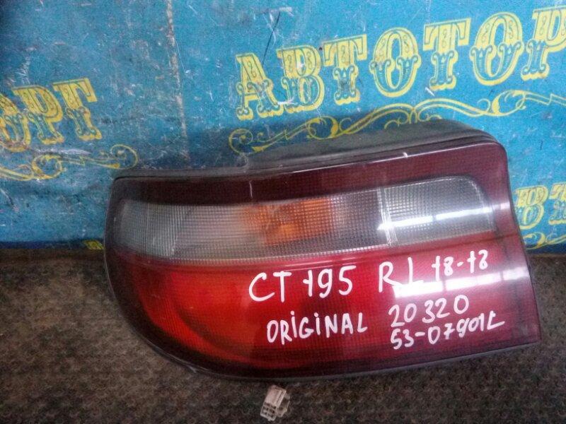 Стоп сигнал Toyota Carina CT195 2C 1992 задний левый