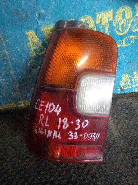 Стоп сигнал Toyota Sprinter CE104 2C 2000 задний левый