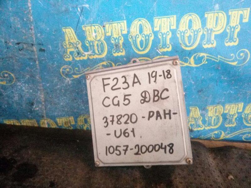 Блок управления двс Honda Accord CG5 F23A 2001