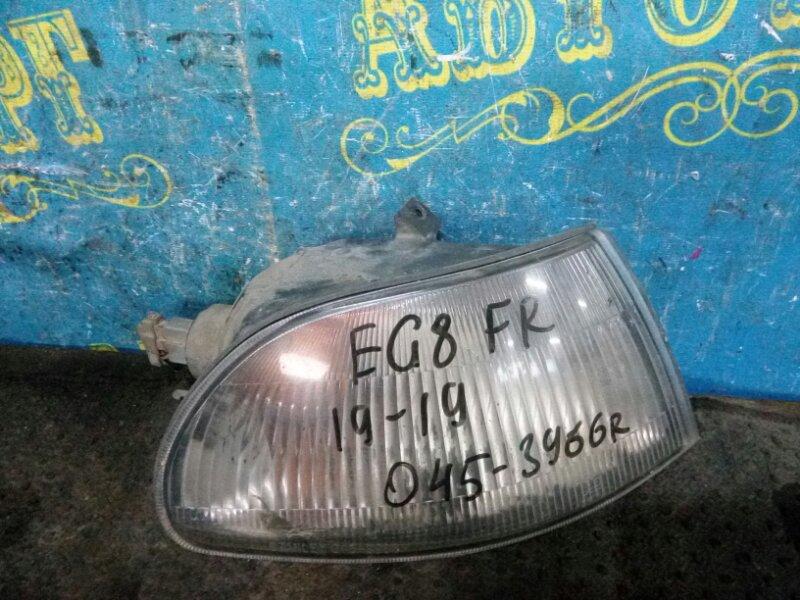 Габарит Honda Civic EG8 D15B 1994 передний правый
