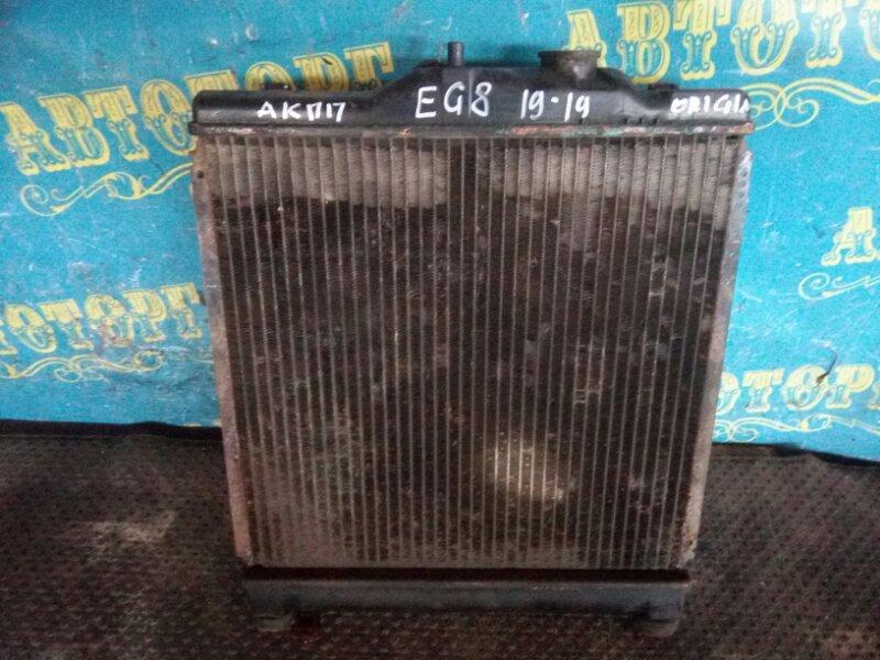 Радиатор основной Honda Civic EG8 D15B 1994